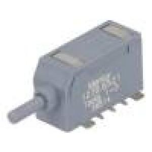 Mikrospínač 1-polohové SPDT 0,5A/60VDC SMT 5N 6mm ON-(ON)