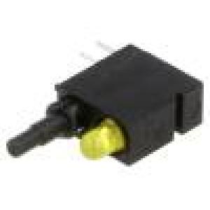 Mikrospínač 1-polohové SPDT 0,5A/60VDC THT LED   5N