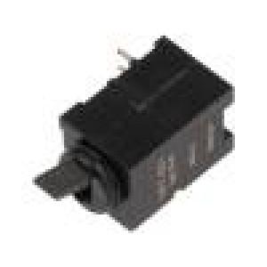 Mikrospínač 1-polohové SPDT 0,5A/60VDC THT 22,46x10,1x10,1mm