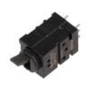 Mikrospínač 1-polohové DPDT 0,5A/60VDC THT, svislá 5,5mm