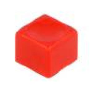 Hmatník obdélníkový červená