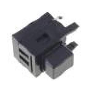 Mikrospínač 1-polohové SPDT THT 2,5N 13,5x10x9,9mm 5,5mm