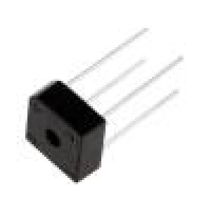 Usměrňovací můstek čtvercový 1kV 6A
