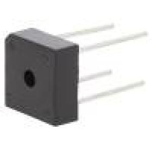 Usměrňovací můstek čtvercový 600V 10A drát Ø1,2mm