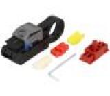 Odstraňovač izolace Vodič koaxiální Prům.vod:2,5-7,6mm