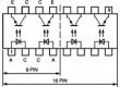 ILQ2 Optočlen THT Kanály:4 tranzistorový výstup Uizol:5,3kV Uce:70V