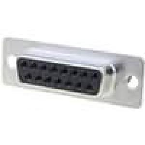 Zástrčka D-Sub 15 PIN zásuvka bez kontaktů na kabel 250V