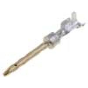 Kontakt vidlice 20-22AWG gold flash krimpování, na kabel 5A