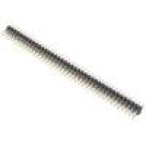 Kolíková lišta kolíkové vidlice PIN:80 přímý 2mm THT 2x40