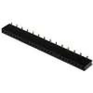 Zásuvka kolíkové zásuvka PIN:28 přímý 1,27mm SMT 1x28 1A