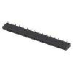 Zásuvka kolíkové zásuvka PIN:32 přímý 1,27mm SMT 1x32 1A