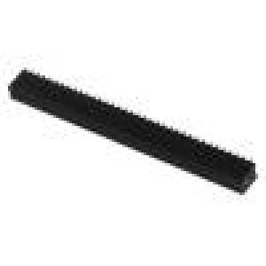Zásuvka kolíkové zásuvka PIN:72 přímý 1,27mm SMT 2x36 1A