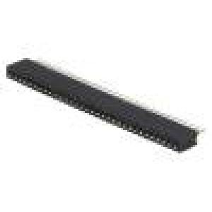 Zásuvka kolíkové zásuvka PIN:32 přímý 1,27mm THT 1x32