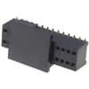 Zásuvka kolíkové zásuvka PIN:28 přímý 1,27mm SMT 2x14