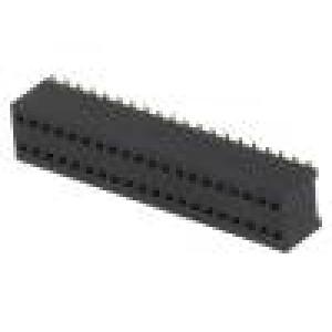 Zásuvka kolíkové zásuvka PIN:40 přímý 1,27mm SMT 2x20