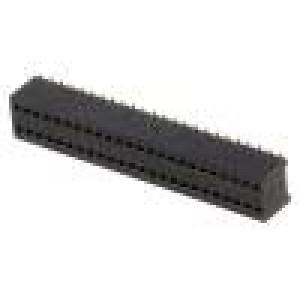 Zásuvka kolíkové zásuvka PIN:48 přímý 1,27mm SMT 2x24