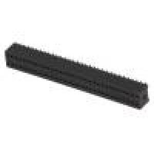 Zásuvka kolíkové zásuvka PIN:64 přímý 1,27mm SMT 2x32