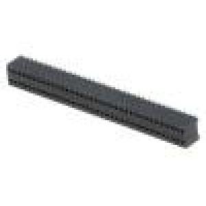 Zásuvka kolíkové zásuvka PIN:72 přímý 1,27mm SMT 2x36