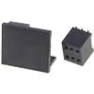 Zásuvka kolíkové zásuvka PIN:6 přímý 1,27mm SMT 2x3