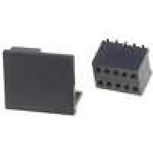 Zásuvka kolíkové zásuvka 10 PIN přímý 1,27mm SMT 2x5