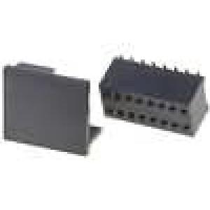 Zásuvka kolíkové zásuvka 16 PIN přímý 1,27mm SMT 2x8