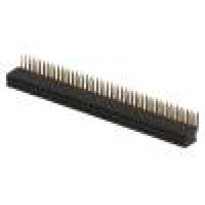 Zásuvka kolíkové zásuvka PIN:72 úhlové 90° 1,27mm THT 2x36