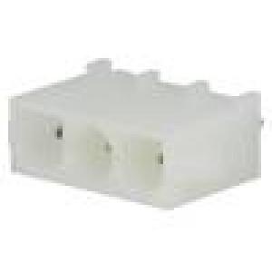Konektor kabel-pl.spoj zásuvka vidlice 3 PINKontakty mosaz