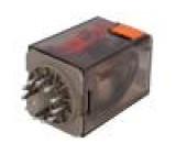 MT3210C4 Relé elektromagnetické 3PDT Ucívky:24VDC 10A/250VAC 475Ω