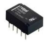 RSM8506112851003 Relé elektromagnetické DPDT Ucívky:3VDC 0,5A/125VAC 2A/30VDC
