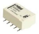 RSM85061128M1012 Relé elektromagnetické DPDT Ucívky:12VDC 0,5A/125VAC 2A IP64