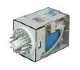 Relé elektromagnetické 3PDT Ucívky:48VDC 10A/250VAC 1,77kΩ