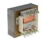 Transformátor síťový 8VA 230VAC 18,2V 18,2V 0,22A 0,22A IP00