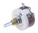Potenciometr axiální, jednootáčkový 100Ω 12,5W 3,18mm drátový