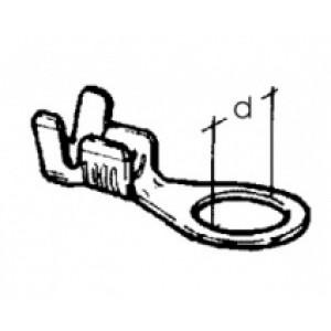kabelové oko prstencové - 6 x 0,8 - 4