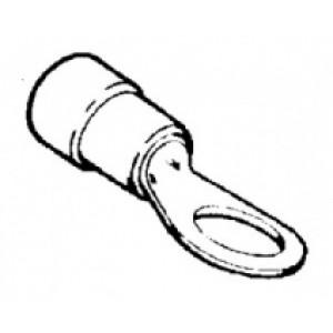 kabelové oko prstenc.izol. červená - 6 x 0,25 - 1,5