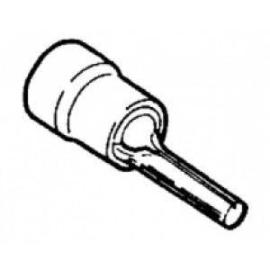 kabelový kolík izol. červená - 1,9 x 0,25 - 1,5