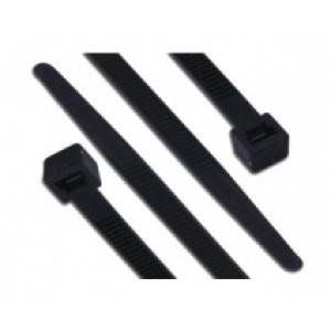 vázací páska černá - 7,5 x 280