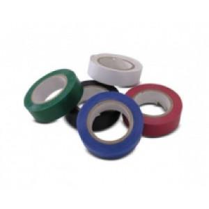 izolační páska PVC červená - 0,13 x 19 x 10