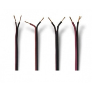 kabel červeno - černý - 2 x 1 mm2