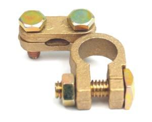 svorka akumulátoru mosaz - 150 g - 17 mm