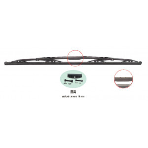 truck stěrač standard-bez spoileru (sedlo) - 22