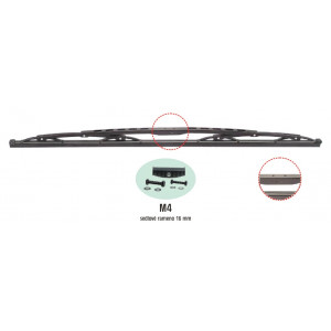 truck stěrač standard-bez spoileru (sedlo) - 32