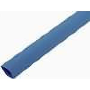 Teplem smrštitelná trubička 3:1 12mm L:200mm modrá 10ks