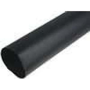 Teplem smrštitelná trubička 3,5:1 63mm L:1m černá