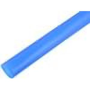Teplem smrštitelná trubička 12,7mm L:1m 2:1 modrá