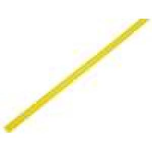 Teplem smrštitelná trubička 2,4mm L:1m 2:1