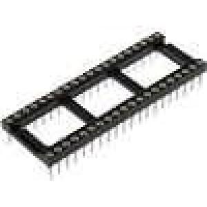 Patice DIP 40 PIN 15,24mm zlacený polyester dvýv:0,51mm 3A