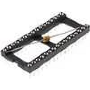 Patice DIP 32 PIN 15,24mm zlacený polyester UL94V-0 10Ω THT