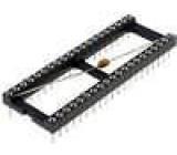 Patice DIP 40 PIN 15,24mm zlacený polyester UL94V-0 10Ω THT