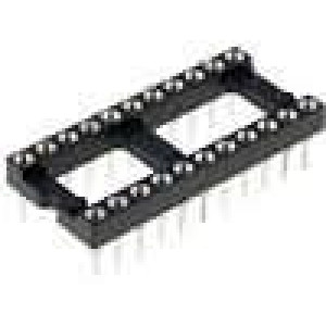 Patice DIP 2PIN2 10,16mm zlacený polyester UL94V-0 1A THT